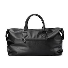 Men's PU Leather Patterned Sport Bag