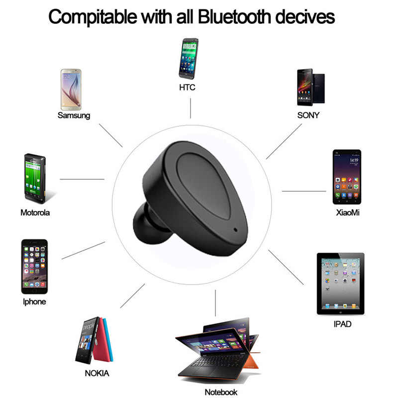 5aa1514a48f ... TWS Bluetooth Earphones K2 TWS Mini Wireless Earbuds Blutooth  Headphones Cordless Headset audifonos Handsfree with Mic ...