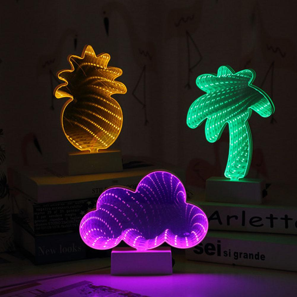 AKDSteel LED 3D Stylish Dreamlike Tunnel Neon Night Lamp for Christmas Party Home Decoration OrnamentAKDSteel LED 3D Stylish Dreamlike Tunnel Neon Night Lamp for Christmas Party Home Decoration Ornament