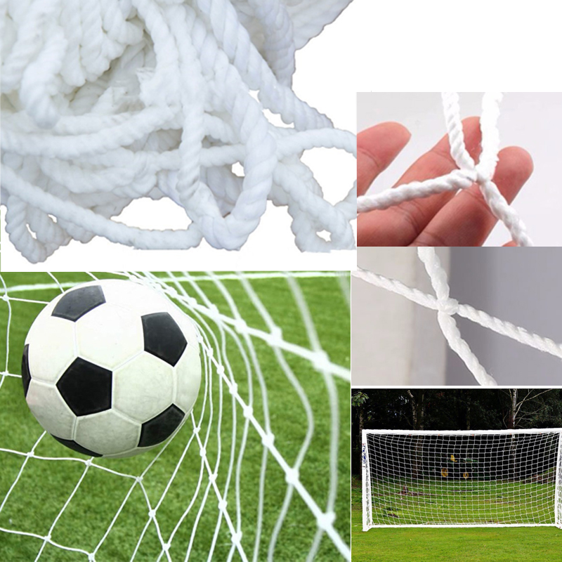 Soccer Net Ball Goal Football Nets Gates For Youth Sports Training Fitness Polypropylene Mesh Post Nets Full Size (Nets only)