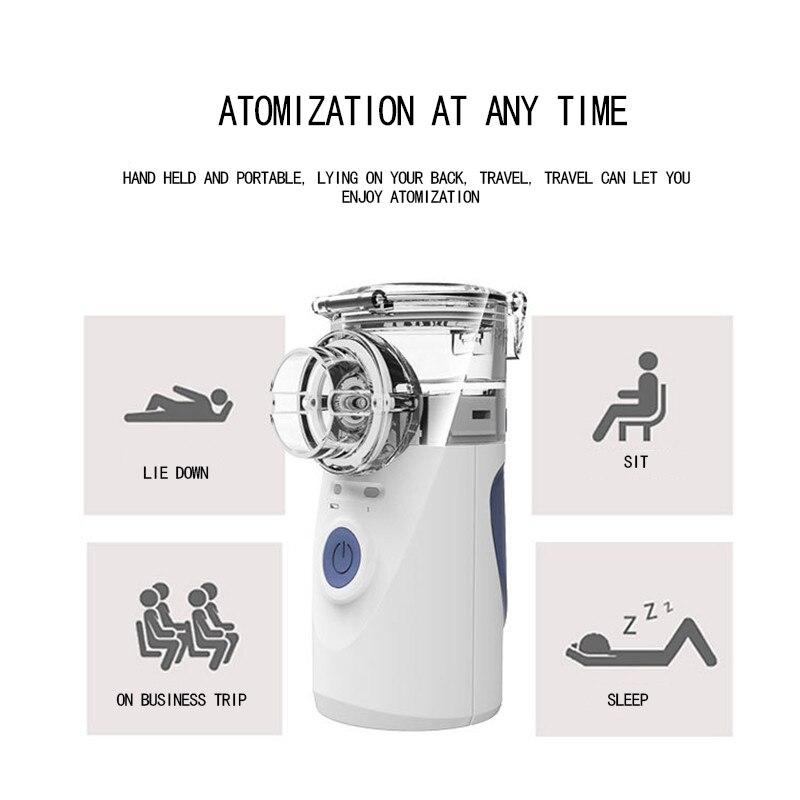 Spray Aromatherapy Steamer Health Care Inhale Nebulizer Ultrasonic Nebulizer  2018 Newest Handheld Nebulizer Beauty Instrument
