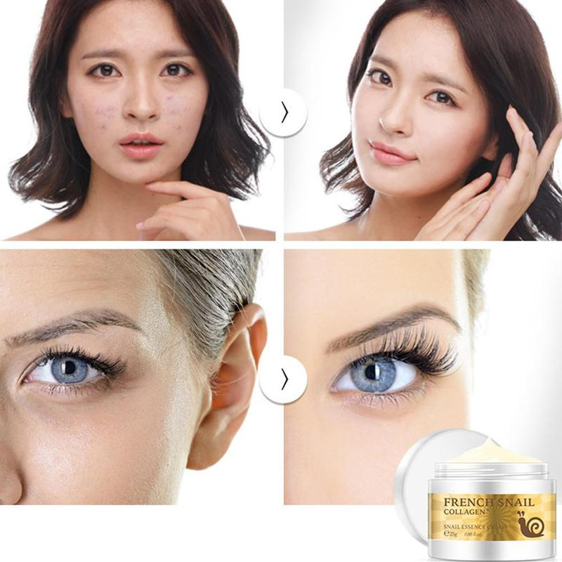 Snail Face Cream Hyaluronic Acid Moisturizer Anti Wrinkle Anti Aging Nourishing Serum Collagen whitening Cream Skin Care 4