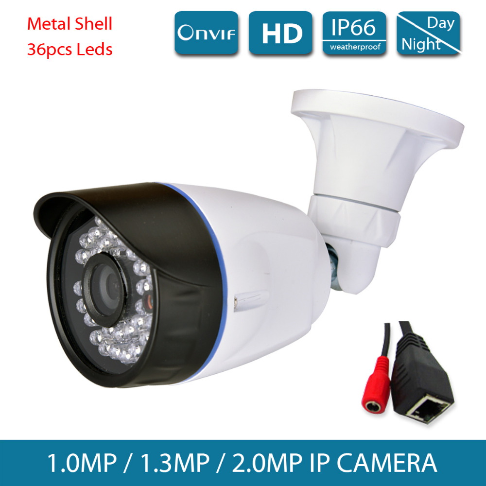 Video Surveillance Hd 1080p Cctv Security Ip Poe Network Camera 2mp Ir Color Onvif2.0 Outdoor Weatherproof 36ir Leds