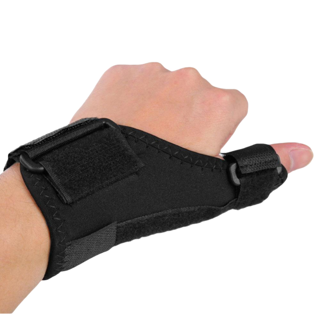 US $1 84 14% OFF|Pro Medical Wrist Elastic Thumb Wrap Hand Palm Wrist Brace  Spring Support Arthritis Pain Sport Training Thumb Fitted Correction-in