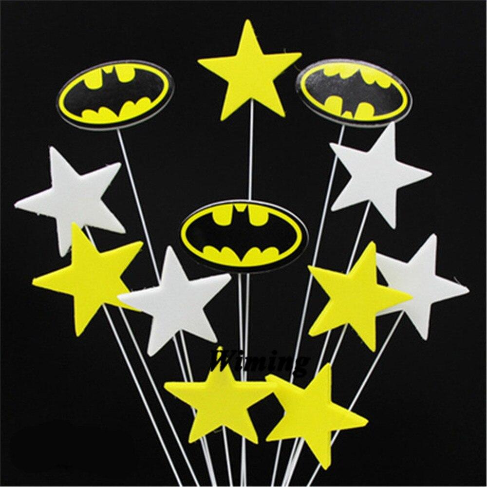 Groovy Batman Birthday Cake Topper Flag Children Superhero Birthday Personalised Birthday Cards Paralily Jamesorg