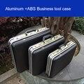 Aluminium tool case toolbox Aluminium frame Business adviserende koffer Man draagbare koffer aktetas Koffer kaart
