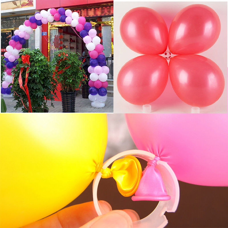 Hot new 50pcs multiple balloon arch folder convenient buckles clip hot new 50pcs multiple balloon arch folder convenient buckles clip accessories connect ring connectors decorative in ballons accessories from home junglespirit Image collections