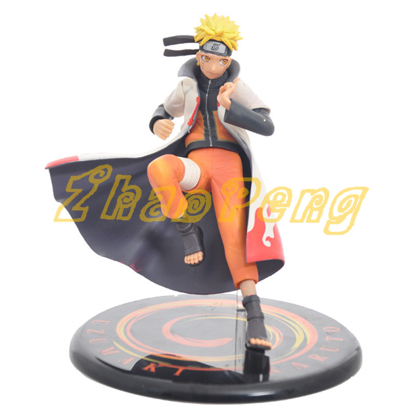 Naruto anime figure Naruto Uzumaki anime figure High quality Collection Decoration model doll PVC brinquedos 16CM toy with box anime naruto brinquedos action