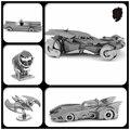 JWLELE Batman vs Superman 1989 Clásico Del Rompecabezas 3D modelo de ensamblaje de Metal 5 estilos regalo Creativo Juguetes de Escritorio decoración
