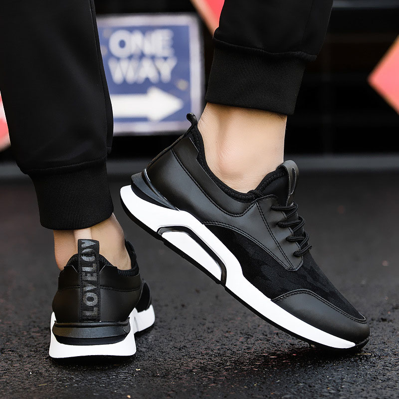 Mx8118162 Pour Chaussures Respirant Marque Designer En Cuir Mode Luxe Casual Hommes assorties De Noir PxwCq4Bn1w