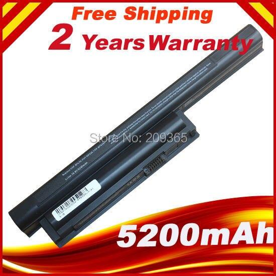 5200 mah bateria do portátil para sony vaio ca cb por exemplo eh ej el vpcca bps26 vpccb vpcem vpceh vpcej vpcel VGP-BPL26 VGP-BPS26 VGP-BPS26A