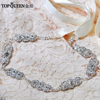 TOPQUEEN S215 rhinestone Wedding Belts sash Free shipping Stock Cheap designer Bridal belts Wedding sashs Fast Delivery