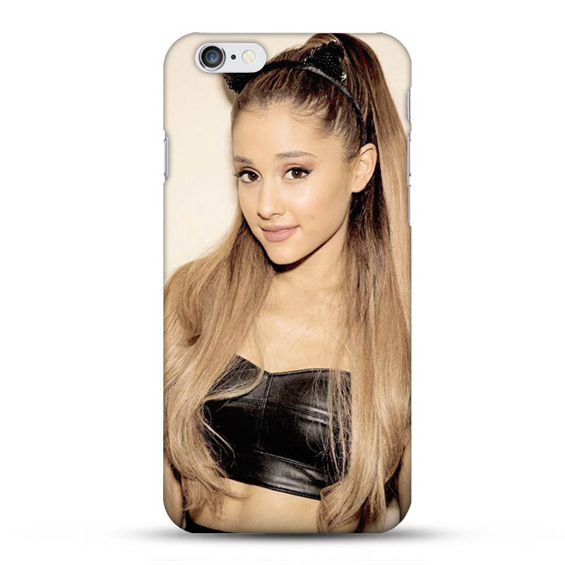 Ariana Grande luxury Hard Back Cover Case for Iphone 6 6S High quality