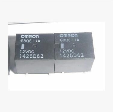 5pcs G8QE-1A 12VDC hot new relay g8qe 1a 12vdc g8qe 1a 12vdc g8qe1a 12vdc dc12v 12v dip6 5pcs lot