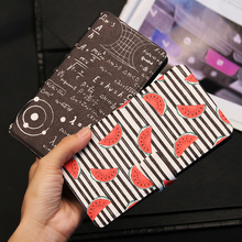 QIJUN Painted Flip Wallet Case For Alcatel One Toch Pop 3 5015 5025D 4 5051 4s 5095 5056 pop4 Phone Cover Protective Shell