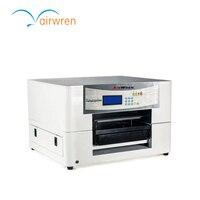 Black And White T Shirt Flatbed Printer Digital Fabric Printing Machine