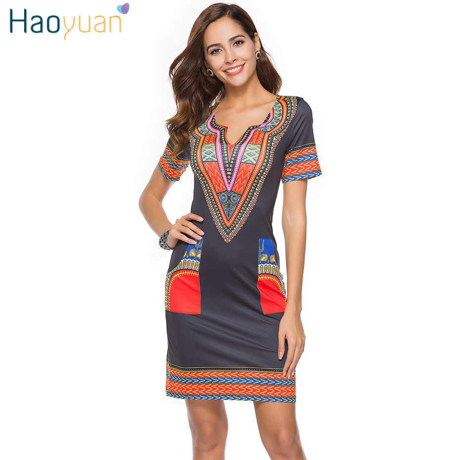 01b60e4cf4f ... HAOYUAN S-3XL Women Summer Bodycon Dress 2018 Robe Sexy Casual Sundress Plus  Size Clothing ...