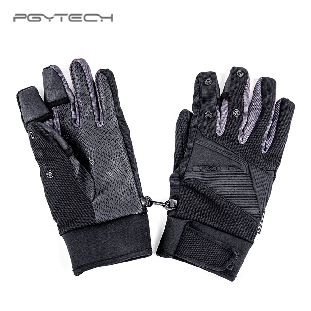 PGYTECH photography gloves outdoor mountaineering Ski Riding Flip Windproof Waterproof Multifunction FPV RC modle Gloves drone helipad