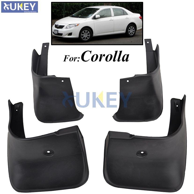 for toyota corolla altis e140 2007 2013 mudflaps splash. Black Bedroom Furniture Sets. Home Design Ideas