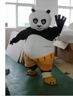 Kung Fu Panda Costume Della Mascotte di Natale Del Vestito da Partito Strano Carnevale di Trasporto Libero