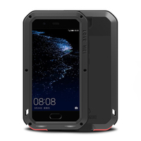 Full Body Protective Huawei P10 Case For Huawei P10 Plus P P9 10 &Gorilla Glass Metal Armor Shockproof Cover sFor Huawei P9 Case