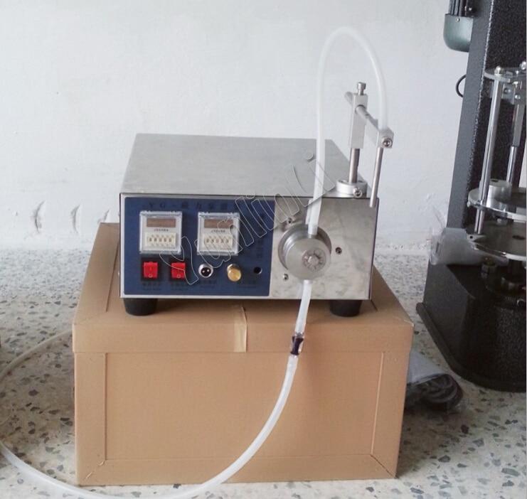 Liquid Filling Machine Digital Control Magnetic Drive Pump Liquid Filling Machine Drink/Oil/Cosmetics Liquid Filling Machine yason 5ml to unlimited magnetic pump micro computer liquid filling machine