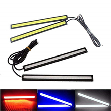 2 Piece 17cm Universal COB LED Car Lamp External Lights Auto Waterproof Styling Led