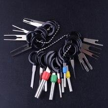 26個/キットatvオートバイ車のケーブル配線コネクタピン抽出プラーワイヤー端子の削除ツール逆アセンブル自動車