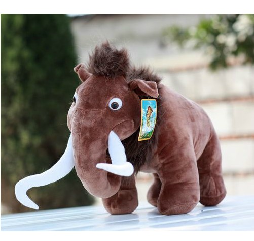 plush toy stuffed doll cute Ice time Manny Mammoth elephant story cartoon animal model Christmas birthday gift 1pc free shipping