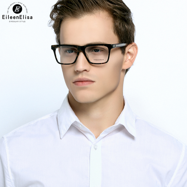 Glasses Frames 2017 Mens : EE 2017 Women Men Vintage Square Eyewear Frames Retro ...