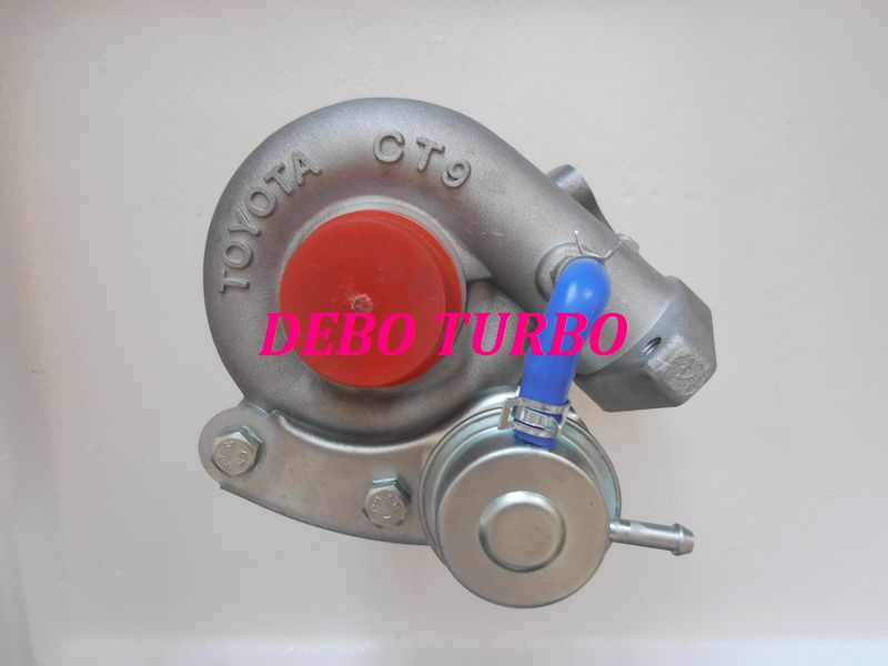 NEW CT9 2 Turbo Turbocharger for TOYOTA Starlet GT EP82 EP85 EP91 4E FTE 1.3L 99KW Speedvision