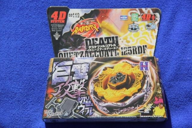 1 piece  BEYBLADE Death Quetzalcoatl 125RDF Metal Fury 4D  Legends Beyblade BB119
