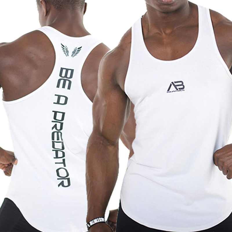 ZOGAA 2019 Brand Fitness Clothing Mens Gym Running Sport   Tank     Top   Bodybuilding Male Muscle Cotton Sleeveless O-Neck Vest