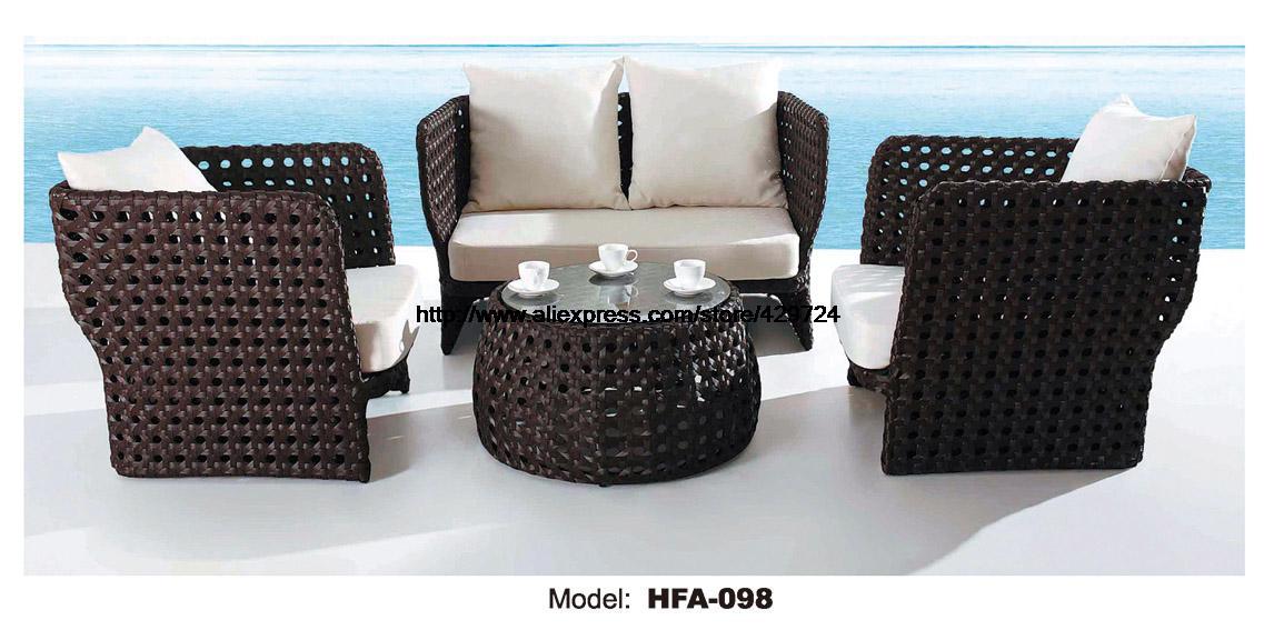 conjunto de sofs de mimbre al aire libre silla mobiliario de mimbre pe salud para
