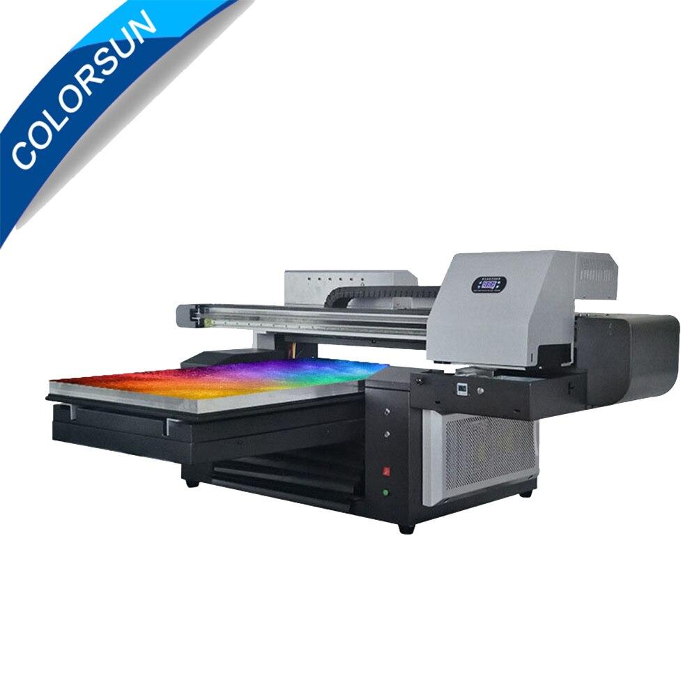 6090 Uv Drucker Uv-flachbettdrucker Max Druck Größe 600x900mm 6090 Große Format Multifunktions Digitale Inkjet 3d Keramik Uv Drucker