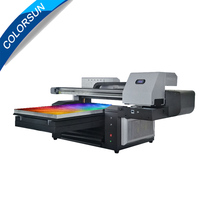 6090 UV printer UV flatbed Printer max print size 600x900mm 6090 Large Format Multifunction Digital Inkjet 3D Ceramic UV printer