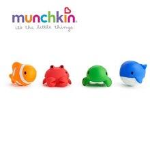 Игрушка для ванны Munchkin Морские животные 4шт от 9 мес