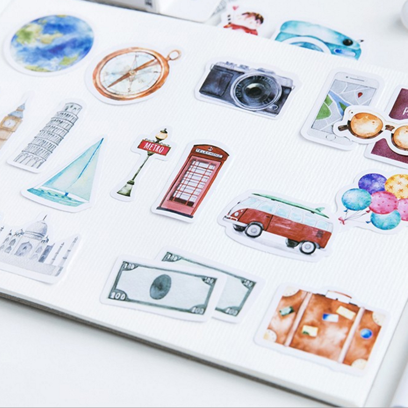 adesivos adesivos diy diário dos desenhos animados