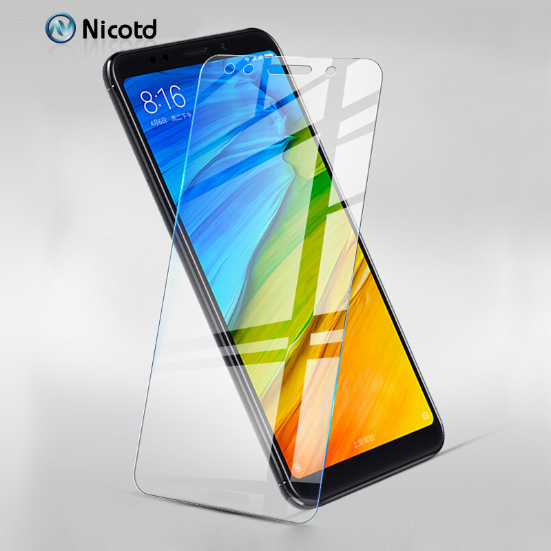 Nicotd 9H Tempered Glass For Xiaomi Redmi 6A 6 Pro Screen Protector For Redmi 5 Plus S2 5A Note 5A Prime 4A 4PRO Protective Film