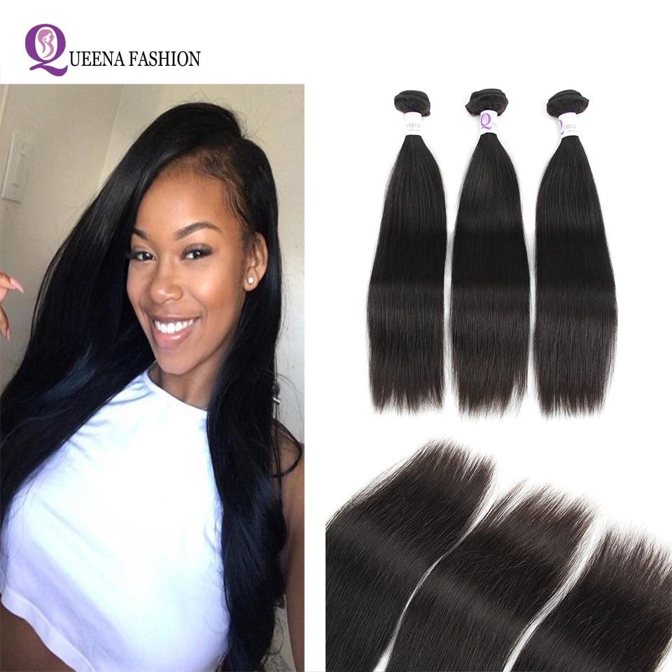 3 Bundle Deals Peruvian Straight Hair 100% Human Hair Bundles Cheap Peruvian Straight Human Hair Weave Non Remy Hair Extensions