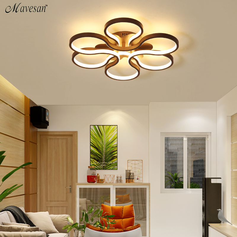 2018 modern acrylic LED Ceiling Lights for Living Room heart ceiling lamp Decorative lampshade Lamparas de techo remote control dimming led ceiling lights post modern style for living room study room decorative lampshade ceiling lamp lamparas de techo