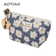 Cosmetic New Portable Women Makeup bag Toiletry bag Travel Wash pouch Cosmetic Bag Make Up Organizer Storage beauty Case D36M15
