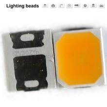 1000pcs/lot SMD LED SEOUL Replace Samsung 2835 lamp beads highlight 0.3W 18.8V-19.8V 1.2W 2700K цены онлайн