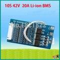 10 S bms 20A 42 V li-ion PCM BMS placa de proteção da bateria pcm para 36 V lithium ion battery pack