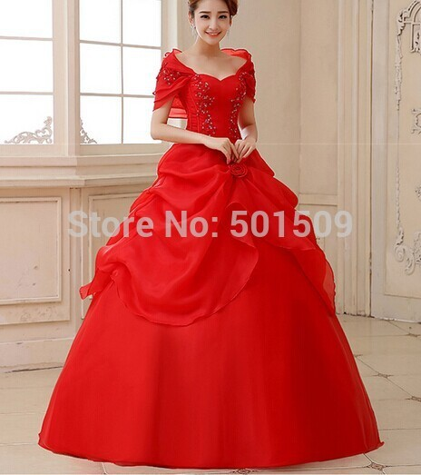 red shawl collar beading floral ruffles lace embroidery long medieval dress Renaissance Gown princess Victori/Marie Antoinette