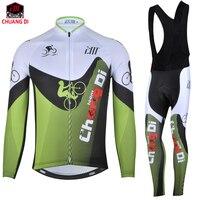 Spor ve Eğlence'ten Bisiklet Takımları'de ZM Uzun kollu Erkek Bisiklet Formaları Bisiklet spor takımları Dağ Bisikleti MTB maillot ciclismo nefes chuangdi Bisiklet Kıyafetleri