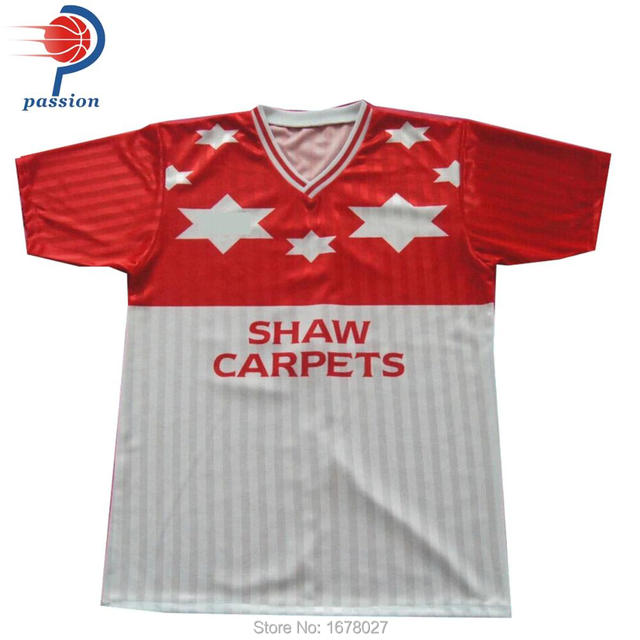 2a94f6c59 China Custom Wholesale Plain Sublimation Polyester Football Jersey Guangzhou  Factory