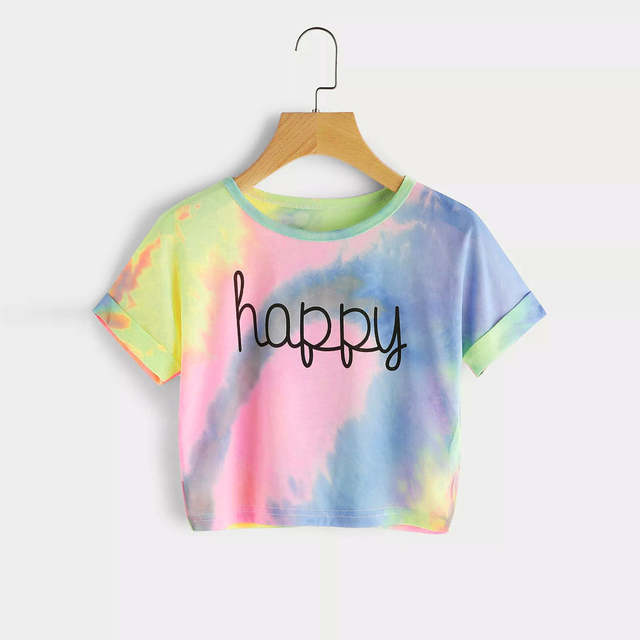 479023a89cb placeholder MUQGEW summer T-shirts for women 2018 crop top tee Korean style  streetwear for teen