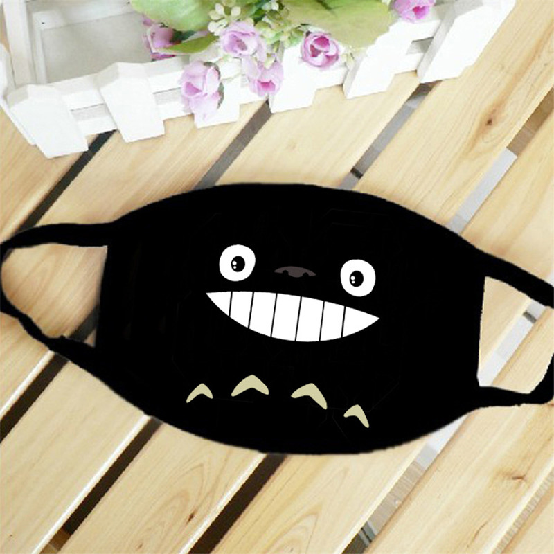 My Neighbor Totoro Japan Anime Mouth Face Mask Dustproof Breathable Women Men Cotton Riding Mask Fashion Accessories