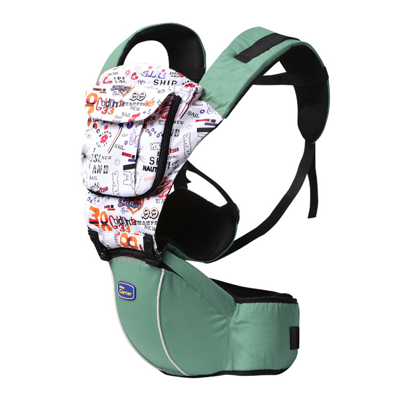 Multi-function Baby Carrier Hip Seat Baby Sling Toddler Wrap Rider Splice Cotton Babies Infant Backpack  Suspenders BB0115 multi function portable comfortable cotton baby carrier sling bag deep blue white